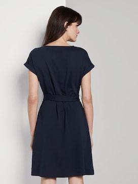 Kleid mit Bindegürtel - 2 - Tom Tailor E-Shop Kollektion