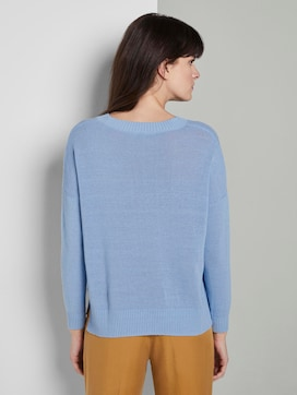 Simple knitted sweater - 2 - Mine to five