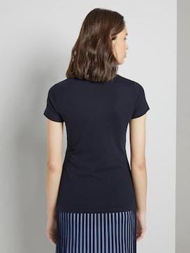 T-shirt met logo print met biologisch katoen  - 2 - TOM TAILOR