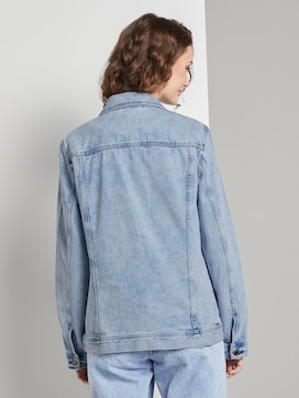 Nena & Larissa: Jeansjacke im Pastell-Washed-Look - 2 - TOM TAILOR Denim