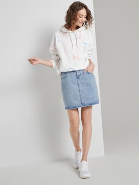 Nena & Larissa: Denim rok met hoge taille in mini lengte - 3 - TOM TAILOR Denim