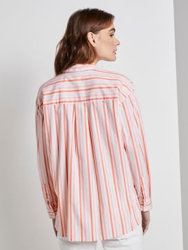 Nena & Larissa: Striped blouse - 2 - TOM TAILOR