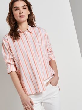 Gestreifte Bluse - 5 - TOM TAILOR
