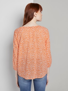 Blouse with ruffles - 2 - TOM TAILOR