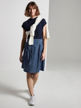 Skirt with ruffles - 3 - TOM TAILOR