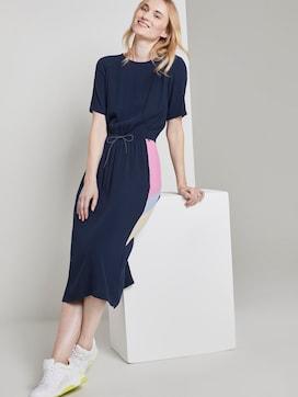 Midi dress with a drawstring on the waist - 5 - TOM TAILOR Denim