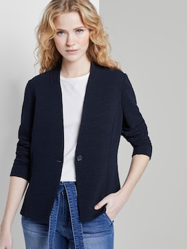 Blazer in a crincle look - 5 - TOM TAILOR