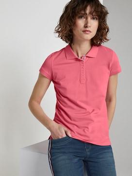 Polo Shirt met textuur - 5 - TOM TAILOR