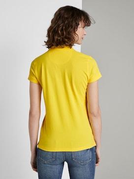 Polo Shirt met textuur - 2 - TOM TAILOR