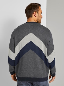 strukturiertes Sweatshirt - 2 - Tom Tailor E-Shop Kollektion