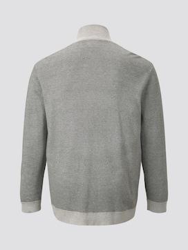 strukturierte Sweatjacke - 8 - Tom Tailor E-Shop Kollektion