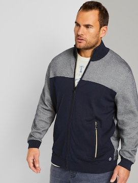 strukturierte Sweatjacke - 5 - Tom Tailor E-Shop Kollektion