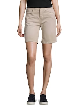 Alexa Slim Bermuda Shorts - 1 - TOM TAILOR