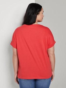 T-Shirt mit Schrift-Print - 2 - My True Me