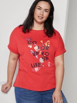 T-Shirt mit Schrift-Print - 5 - My True Me