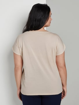 T-shirt with a tie-dye print - 2 - My True Me