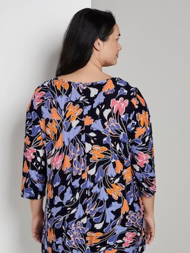 Lang shirt met bloemenprint - 2 - My True Me
