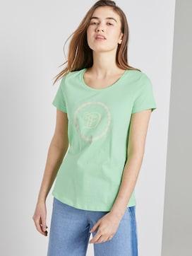 T-shirt met logo print - 5 - TOM TAILOR Denim