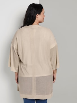 Cardigan with wide sleeves - 2 - My True Me