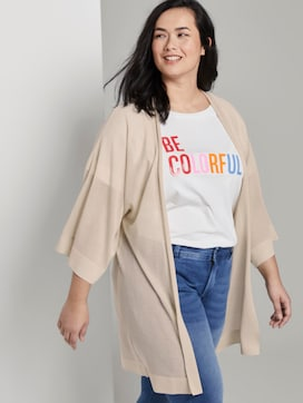 Cardigan with wide sleeves - 5 - My True Me