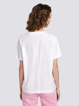 Nena & Larissa: Loose T-shirt with a holographic print - 2 - TOM TAILOR Denim