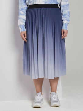 Pleated midi-skirt - 1 - My True Me
