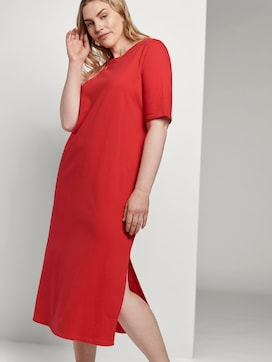 T-shirt dress with a slit - 5 - Tom Tailor E-Shop Kollektion