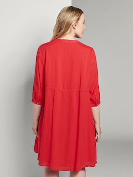 Dress with a stand-up collar - 2 - Tom Tailor E-Shop Kollektion