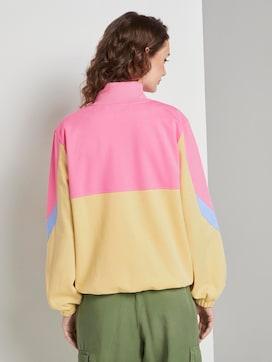 Nena & Larissa: Oversized Sweatshirt mit Troyer-Kragen - 2 - TOM TAILOR Denim