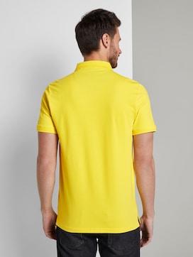 Schlichtes Poloshirt mit kleinem Print - 2 - TOM TAILOR