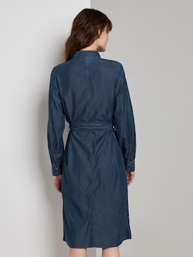 Denim Jurk met Riem - 2 - TOM TAILOR