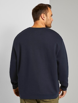 Basic sweatshirt - 2 - Men Plus