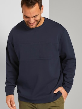 Basic sweatshirt - 5 - Men Plus