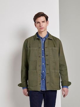 Jacket in a shirt style - 5 - TOM TAILOR Denim