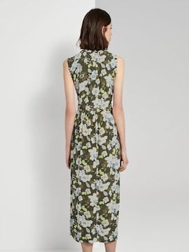 Sleeveless maxi dress with a pattern - 2 - TOM TAILOR