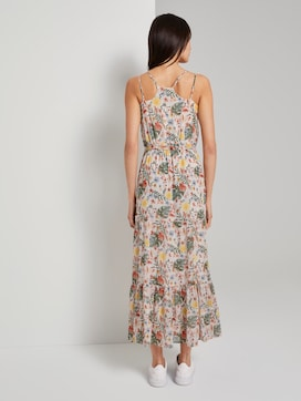 Maxi-dress with a tropical print - 2 - TOM TAILOR