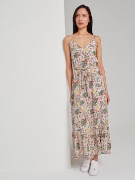Maxi jurk met tropische print - 5 - TOM TAILOR