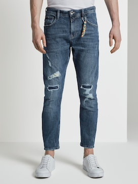 Cropped Conroy Jeans met vernietigt - 1 - TOM TAILOR Denim