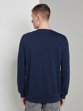 Sweatshirt with a logo print - 2 - TOM TAILOR Denim