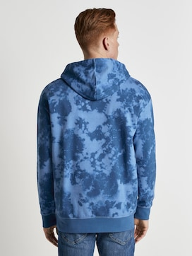 Hoodie im Batik-Look - 2 - TOM TAILOR Denim