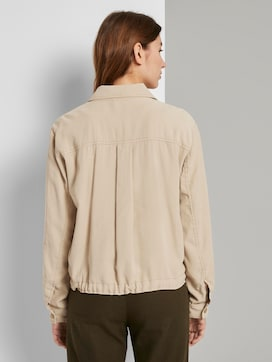 Short utility blazer with an adjustable waistband - 2 - TOM TAILOR