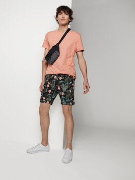 Gemusterte Chino Shorts - 3 - TOM TAILOR Denim