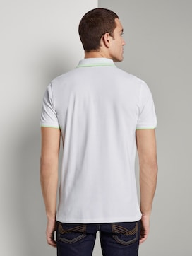 Polo shirt with a zipper - 2 - TOM TAILOR