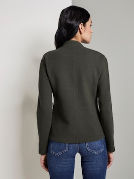 Textured Ottoman blazer - 2 - TOM TAILOR