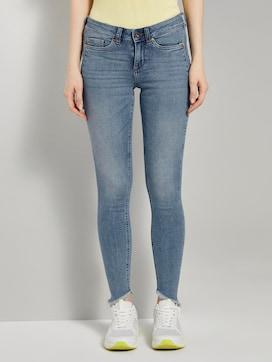 Jona Extra Skinny Jeans met Fringe - 1 - TOM TAILOR Denim