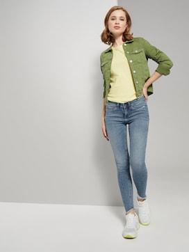 Jona Extra Skinny Jeans met Fringe - 3 - TOM TAILOR Denim