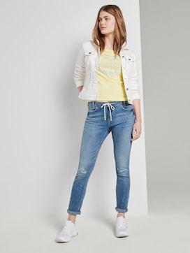 Lynn Antifit Jeans mit Tunnelzug am Bund - 3 - TOM TAILOR Denim