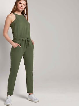 Relaxed Neckholder-Jumpsuit - 5 - TOM TAILOR Denim