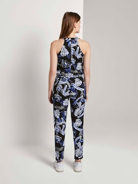 Relaxed Halter Jumpsuit - 2 - TOM TAILOR Denim