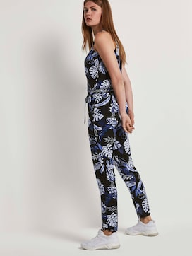 Relaxed Halter Jumpsuit - 5 - TOM TAILOR Denim